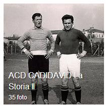 ACD CADIDAVID la storia parte seconda, periodo dal 1960 al 1970