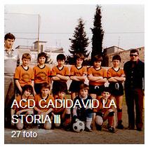 ACD CADIDAVID la storia parte terza, periodo dal 1970 al 1979