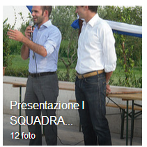 4 Settembre 2010 Presentazione I° SQUADRA Campionato di Promozione anno 2010-2011