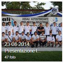 23-08-2014 Presentazione I SQUADRA Campionato reg. ven. PROMOZIONE 2014-2015 e Juniores Elite camp. reg. veneto Juniores Elite 2014-2015