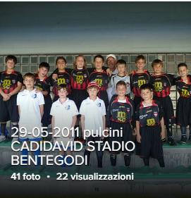 29-05-2011 I pulcini 2001-2002 dell'ACD CADIDAVID hanno accompagnato i giocatori dell'Hellas Verona prima dell'incontro di calcio HELLAS VERONA- SORRENTO .